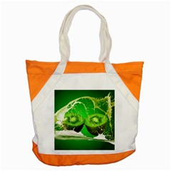 Kiwi Fruit Vitamins Healthy Cut Accent Tote Bag
