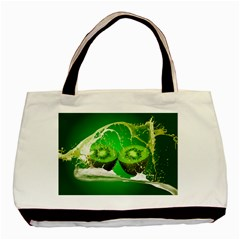 Kiwi Fruit Vitamins Healthy Cut Basic Tote Bag (two Sides)