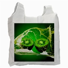 Kiwi Fruit Vitamins Healthy Cut Recycle Bag (One Side)