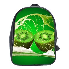 Kiwi Fruit Vitamins Healthy Cut School Bags(large)