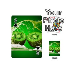 Kiwi Fruit Vitamins Healthy Cut Playing Cards 54 (mini)