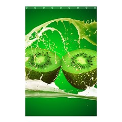 Kiwi Fruit Vitamins Healthy Cut Shower Curtain 48  X 72  (small)