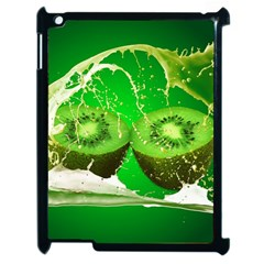 Kiwi Fruit Vitamins Healthy Cut Apple Ipad 2 Case (black)