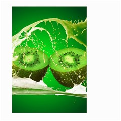Kiwi Fruit Vitamins Healthy Cut Large Garden Flag (two Sides)