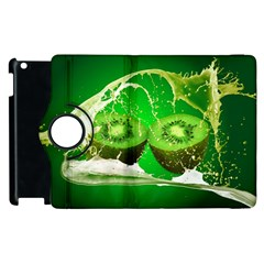 Kiwi Fruit Vitamins Healthy Cut Apple Ipad 3/4 Flip 360 Case