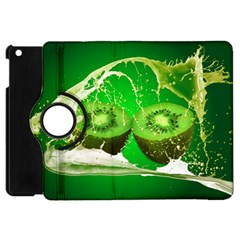 Kiwi Fruit Vitamins Healthy Cut Apple Ipad Mini Flip 360 Case
