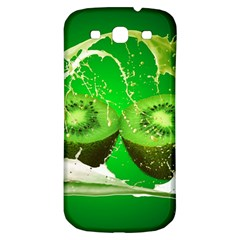 Kiwi Fruit Vitamins Healthy Cut Samsung Galaxy S3 S Iii Classic Hardshell Back Case