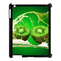 Kiwi Fruit Vitamins Healthy Cut Apple Ipad 3/4 Case (black)