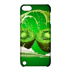 Kiwi Fruit Vitamins Healthy Cut Apple Ipod Touch 5 Hardshell Case With Stand