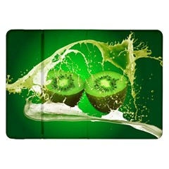 Kiwi Fruit Vitamins Healthy Cut Samsung Galaxy Tab 8 9  P7300 Flip Case
