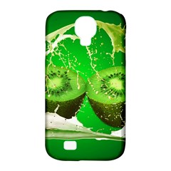 Kiwi Fruit Vitamins Healthy Cut Samsung Galaxy S4 Classic Hardshell Case (pc+silicone)