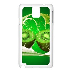Kiwi Fruit Vitamins Healthy Cut Samsung Galaxy Note 3 N9005 Case (white)