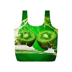 Kiwi Fruit Vitamins Healthy Cut Full Print Recycle Bags (s)