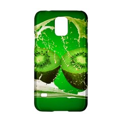 Kiwi Fruit Vitamins Healthy Cut Samsung Galaxy S5 Hardshell Case