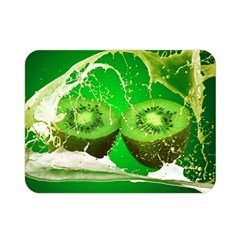 Kiwi Fruit Vitamins Healthy Cut Double Sided Flano Blanket (mini)