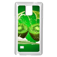 Kiwi Fruit Vitamins Healthy Cut Samsung Galaxy Note 4 Case (white)