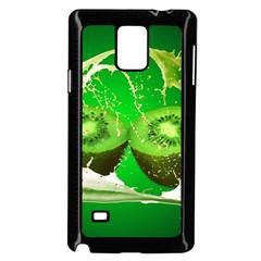 Kiwi Fruit Vitamins Healthy Cut Samsung Galaxy Note 4 Case (black)