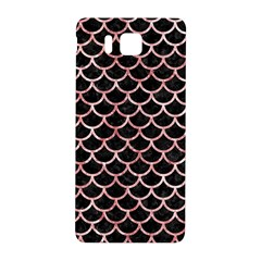 Scales1 Black Marble & Red & White Marble Samsung Galaxy Alpha Hardshell Back Case