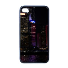 Hong Kong China Asia Skyscraper Apple Iphone 4 Case (black)