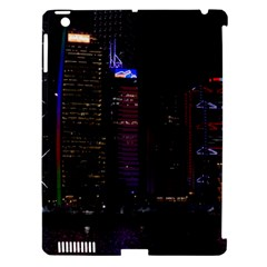 Hong Kong China Asia Skyscraper Apple Ipad 3/4 Hardshell Case (compatible With Smart Cover)