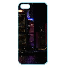 Hong Kong China Asia Skyscraper Apple Seamless Iphone 5 Case (color)
