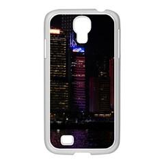 Hong Kong China Asia Skyscraper Samsung Galaxy S4 I9500/ I9505 Case (white)