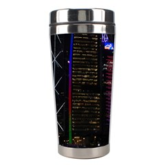 Hong Kong China Asia Skyscraper Stainless Steel Travel Tumblers