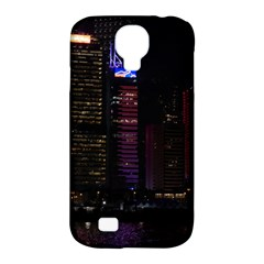Hong Kong China Asia Skyscraper Samsung Galaxy S4 Classic Hardshell Case (pc+silicone)