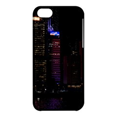 Hong Kong China Asia Skyscraper Apple Iphone 5c Hardshell Case