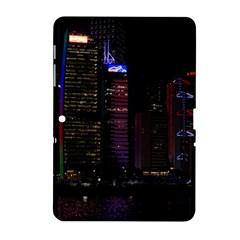 Hong Kong China Asia Skyscraper Samsung Galaxy Tab 2 (10 1 ) P5100 Hardshell Case