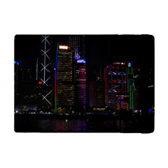 Hong Kong China Asia Skyscraper Ipad Mini 2 Flip Cases