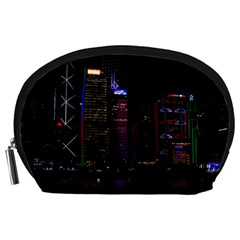 Hong Kong China Asia Skyscraper Accessory Pouches (large)
