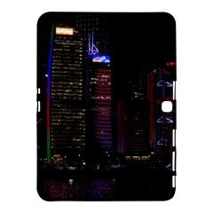 Hong Kong China Asia Skyscraper Samsung Galaxy Tab 4 (10 1 ) Hardshell Case