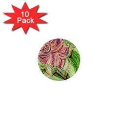 Colorful Design Acrylic 1  Mini Magnet (10 Pack)