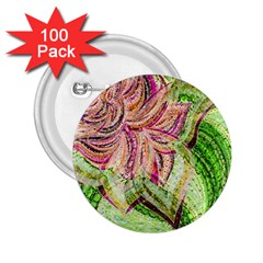 Colorful Design Acrylic 2 25  Buttons (100 Pack)