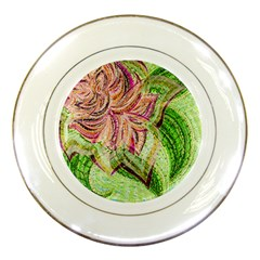 Colorful Design Acrylic Porcelain Plates