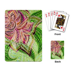 Colorful Design Acrylic Playing Card