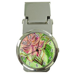 Colorful Design Acrylic Money Clip Watches