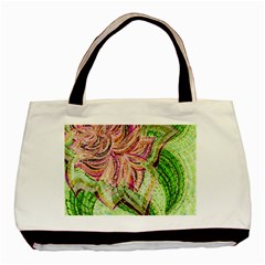 Colorful Design Acrylic Basic Tote Bag (two Sides)