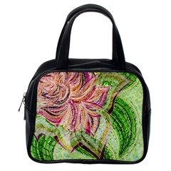 Colorful Design Acrylic Classic Handbags (one Side)