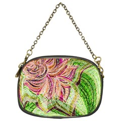 Colorful Design Acrylic Chain Purses (one Side)