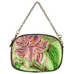 Colorful Design Acrylic Chain Purses (two Sides)