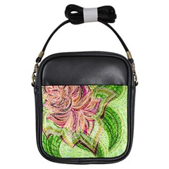 Colorful Design Acrylic Girls Sling Bags