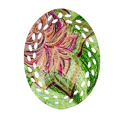 Colorful Design Acrylic Ornament (oval Filigree)
