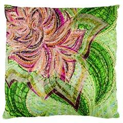 Colorful Design Acrylic Large Cushion Case (one Side)