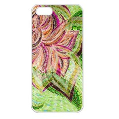 Colorful Design Acrylic Apple Iphone 5 Seamless Case (white)