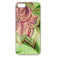 Colorful Design Acrylic Apple Seamless Iphone 5 Case (clear)