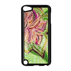 Colorful Design Acrylic Apple Ipod Touch 5 Case (black)