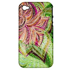 Colorful Design Acrylic Apple Iphone 4/4s Hardshell Case (pc+silicone)