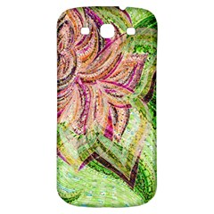 Colorful Design Acrylic Samsung Galaxy S3 S Iii Classic Hardshell Back Case